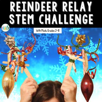 Christmas STEM Challenge: Reindeer Relay