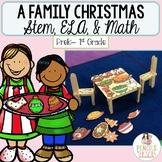 Christmas STEM, ELA, Craft, Math, & More! - Fun Christmas Dinner STEM Project