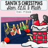 Christmas Math, ELA, Crafts, STEM, & More! - Santa's Clothesline STEM Project