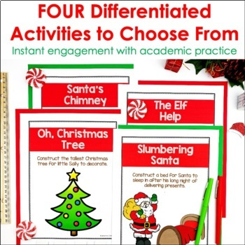 Christmas STEM Engineering Challenges