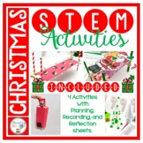 December Holiday Activities Christmas STEM Engineering Challenges