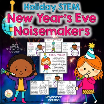 New Year's / Holiday STEM:  New Year's Eve Noisemakers