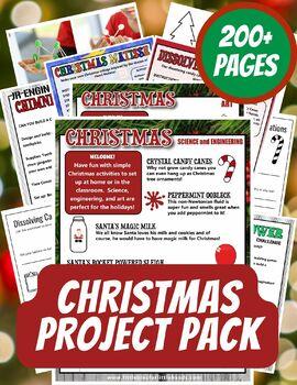 Christmas STEM Pack
