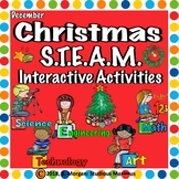 Christmas. STEM and STEAM Interactive Activities.