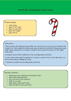 Christmas STEM & Science Experiments
