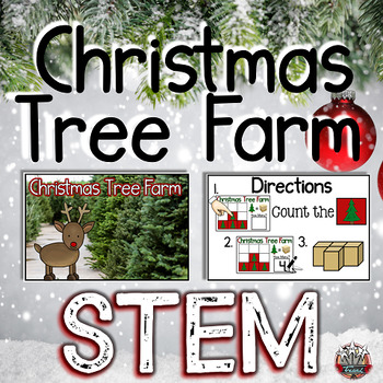 Christmas STEM: Spacial Reasoning and Counting and Cardinality