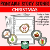 Christmas STORY STONES Story Prompts Writing Prompts