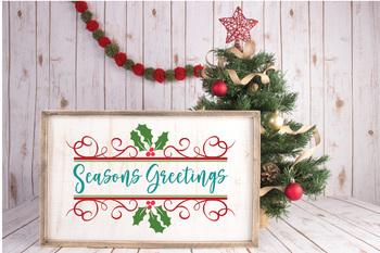 Christmas Svg Cut File Bundle 25 Christmas Images Clip Art More