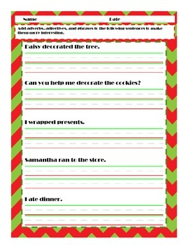 Christmas Sampler {FREEBIE}