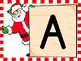 Christmas Santa Alphabet Letter Posters Uppercase and Lowercase