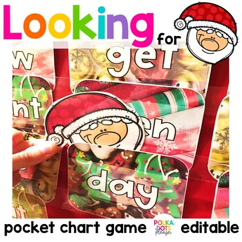 Christmas Santa Alphabet and Sight Word Game