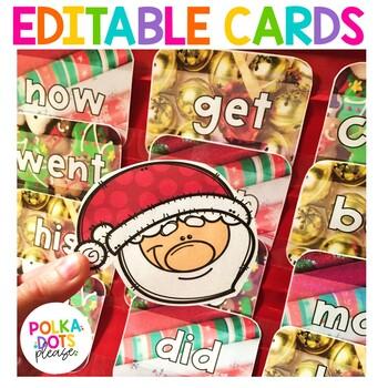 Christmas Santa Alphabet and Sight Word Game