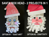 "*Christmas Santa Box Heads-2 Projects in One (""Easy-art""an"