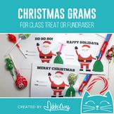 Christmas Santa Candy Grams   Winter Grams   Class Treat o