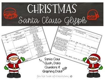 Christmas Santa Claus Glyph