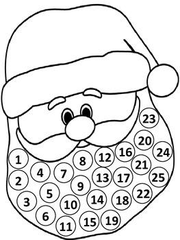 Christmas Santa Countdown