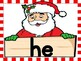 Christmas Santa Dolch Primer Sight Word Flashcards and Posters