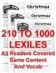 Christmas & Santa FACTS CLOSE READING 5 LEVEL PASSAGES Main Idea Fluency & More!