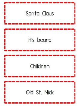 Christmas Fluency Activity
