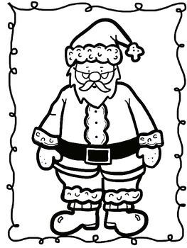 Christmas *Santa* Glyphs