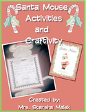 Christmas-Santa Mouse Activities and Craftivity