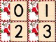 Christmas Santa Number Flashcards 0-100