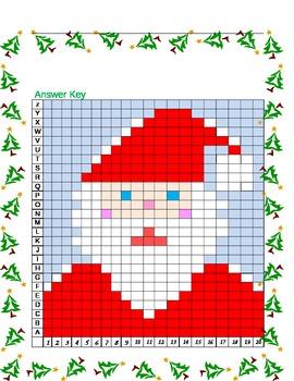 Christmas; Santa Plotting Coordnates