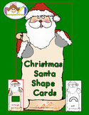 Christmas Santa Shape Cards