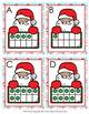 Christmas Santa Ten Frames Count the Room