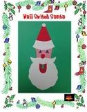 Christmas Santa Wall Switch Art Project