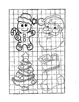Christmas Scale Drawings