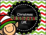 Christmas Scattergories Game & PPT *SIX Rounds!