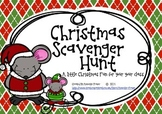 Christmas Scavenger Hunt {FREEBIE}