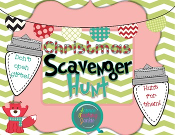 Christmas Scavenger Hunt Cards - Blog Freebie