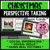 Christmas Social Inferencing Perspective Taking Speech Therapy Boom Cards™