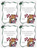 "Christmas ""ScentSational"" Secretary Gift Tags"