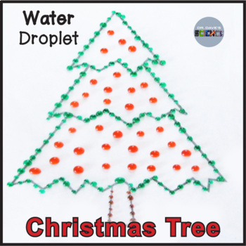 Christmas Science: Water Drop Trees