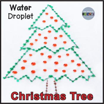 Christmas Science: Water Drop Trees