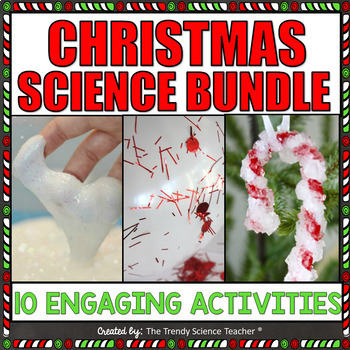 Christmas Science Activities and Lab Bundle