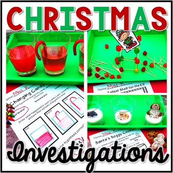 Christmas Science, Christmas Investigation, Christmas Exploration, STEM