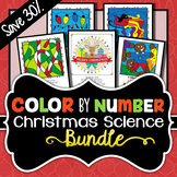 Christmas Science - Color by Number BUNDLE - Save 30%