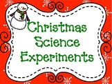 Christmas Science Experiment 5 Pack