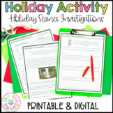 Christmas Science Experiments and Activities