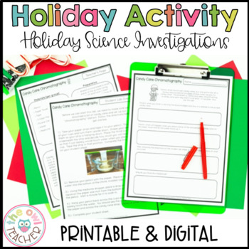 Christmas Science Experiments   Activities   Labs