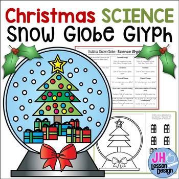 Christmas Science Glyph - Create a Snow Globe