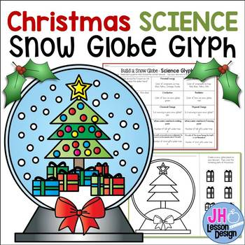 Christmas Science Glyph - Create a Snow Globe