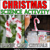 Christmas Science Activity: Candy Cane Crystals FREEBIE