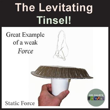 Christmas Science: Levitating Tinsel!