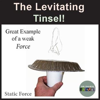 Christmas Science: Levitating Tinsel!