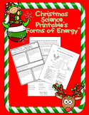 """Christmas Science """"Forms of Energy"""" Printables"""